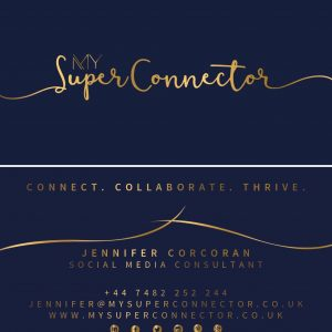 My Super Connector business cards