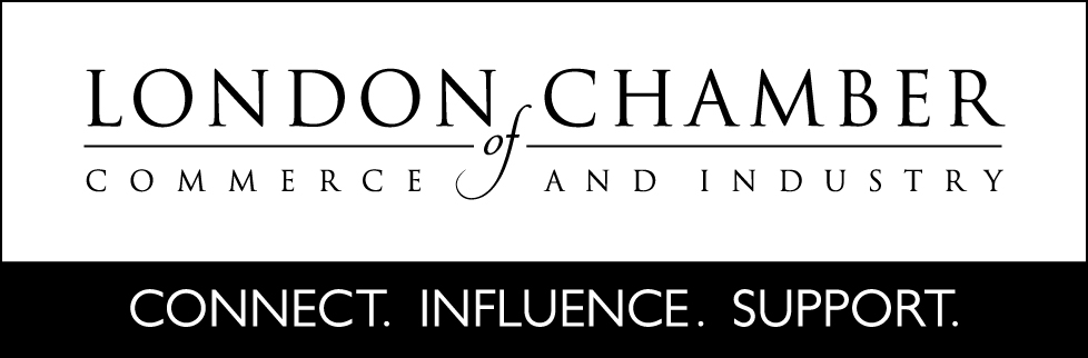 London Chamber of Commerce Logo and strapline