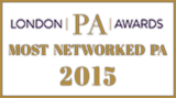 London PA Awards Most Networked PA 2015