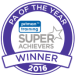 Pitman Trainings Super Achievers PA of the Year 2016