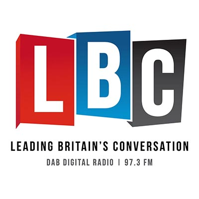 LBC Logo and strapline