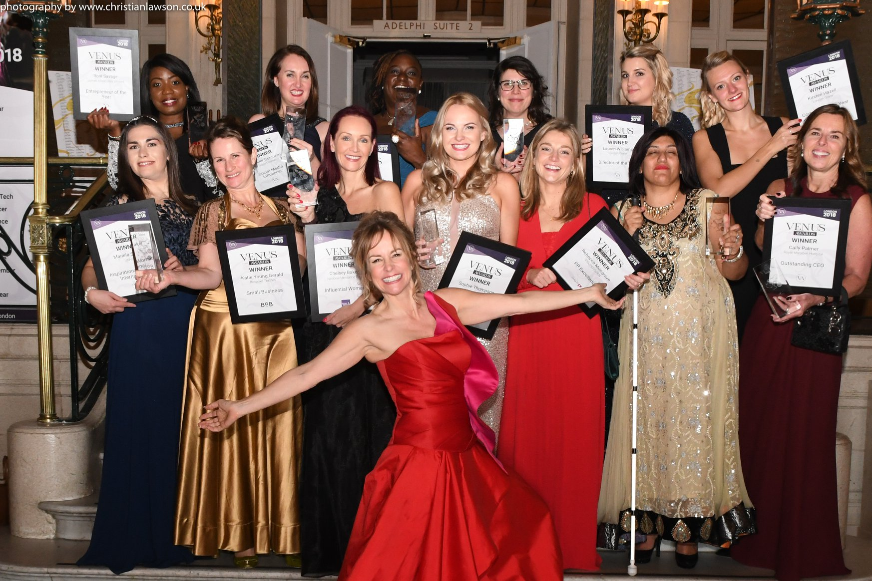 Venus Awards Winners London 2018