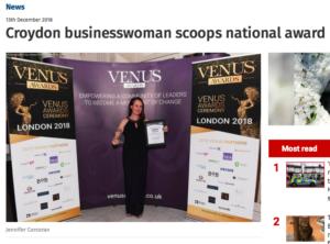 Jennifer Corcoran Croydon and Sutton Guardian