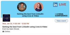 LinkedIn Live with Adam Woods