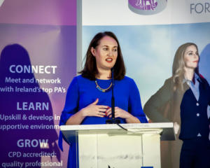 Executive PA Forum Dublin 2019 Jennifer Corcoran LinkedIn Trainer
