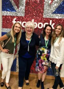 Fun times training at Facebook Headquarters in London
