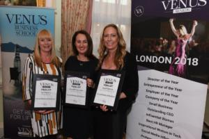 Finalist for the Venus Awards London 2018 Social Media Influencer