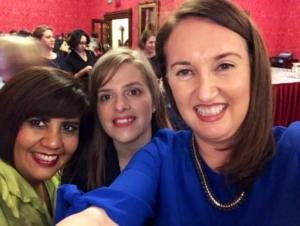 Jennifer Corcoran selfie House of Lords