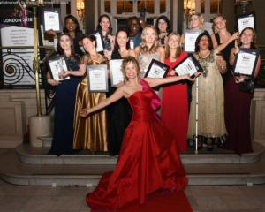 Winners at the Venus Awards London 2018